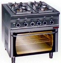 Kuchnia Gazowa Z Piekarnikiem Elektrycznym Kg 4s Pe 2 Urzadzenia