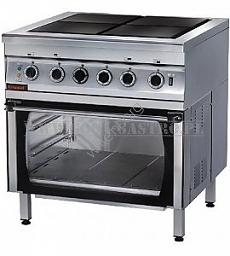 Kuchnia Elektryczna Z Piekarnikiem Elektrycznym 000kez 4u